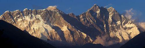"""Panorama """"Nutpse Everest Lhotse"""" 00034"""
