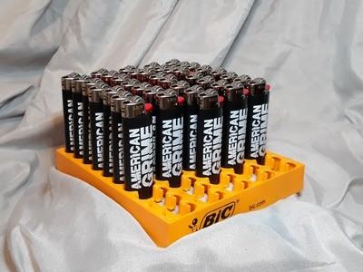 American Grime Logo Bic Lighter