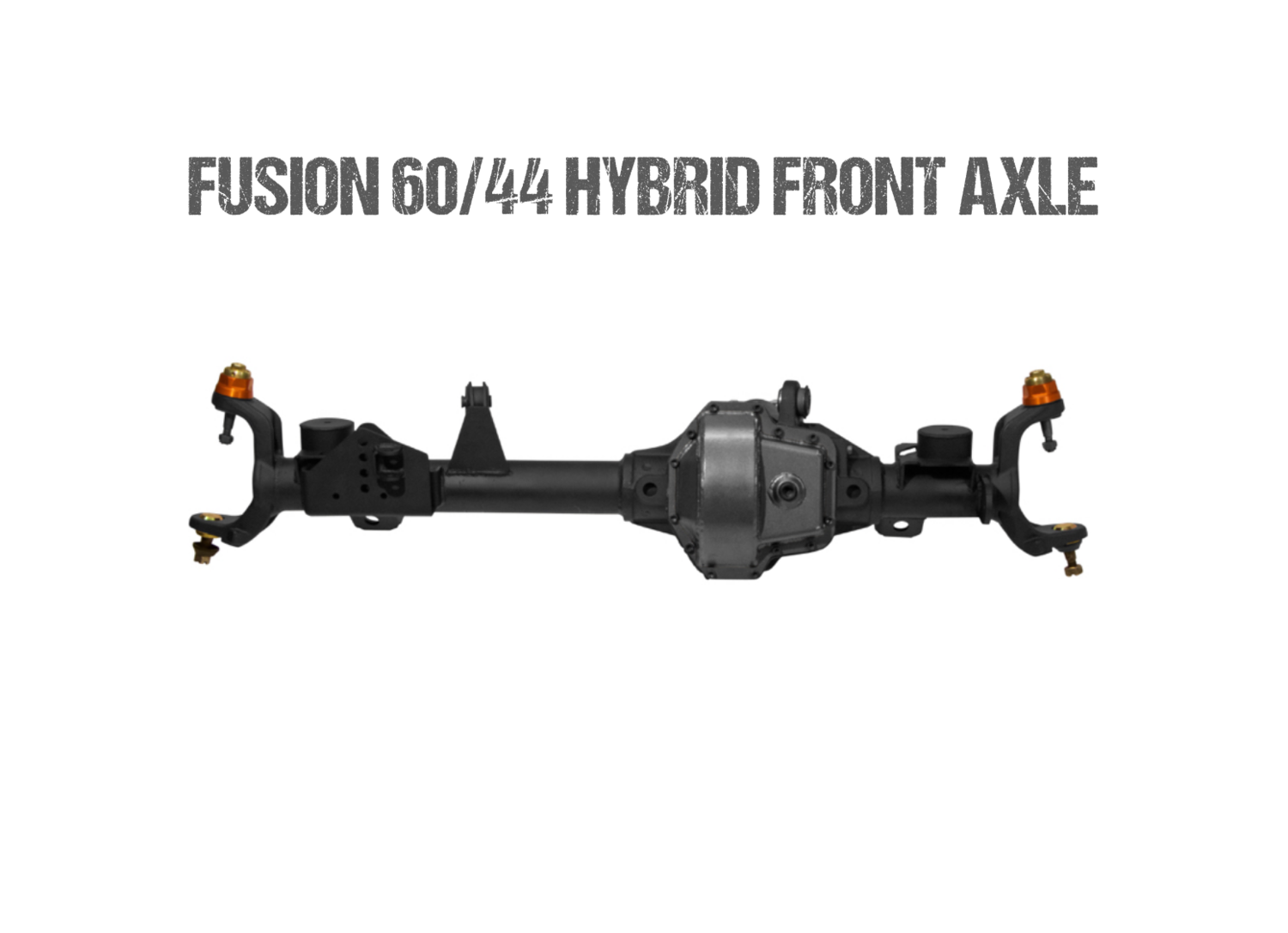 Fusion 60/44 Hybrid Front Axle Assembly for Jeep JK