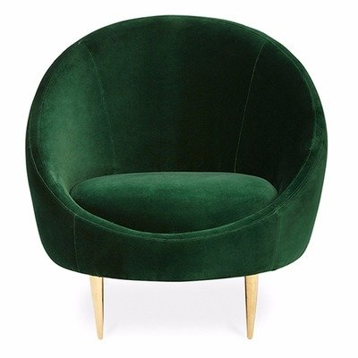 Emerald Velvet Accent Chair