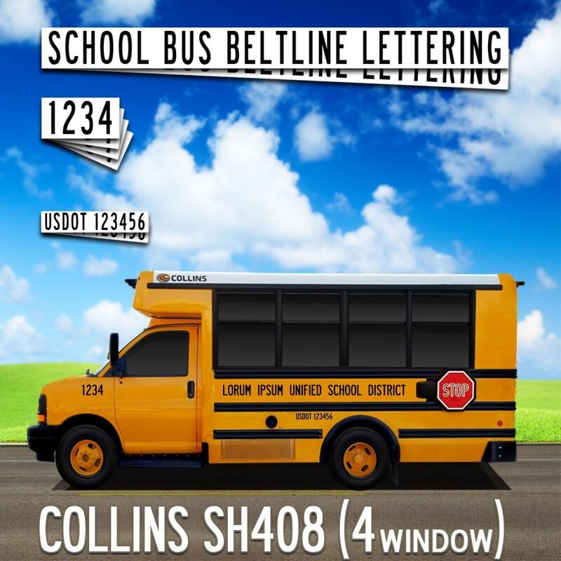 COLLINS SH408 Lettering