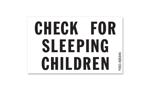 Check For Sleeping Children