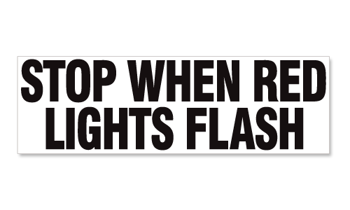 Stop When Red Lights Flash 14