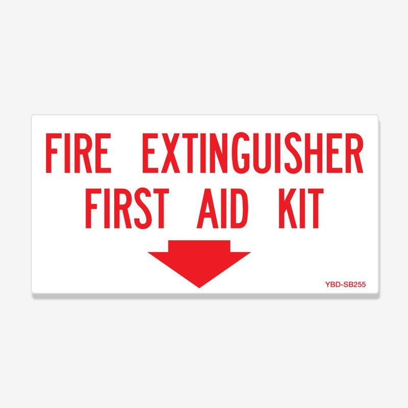 Fire Extinguisher First Aid Kit Location