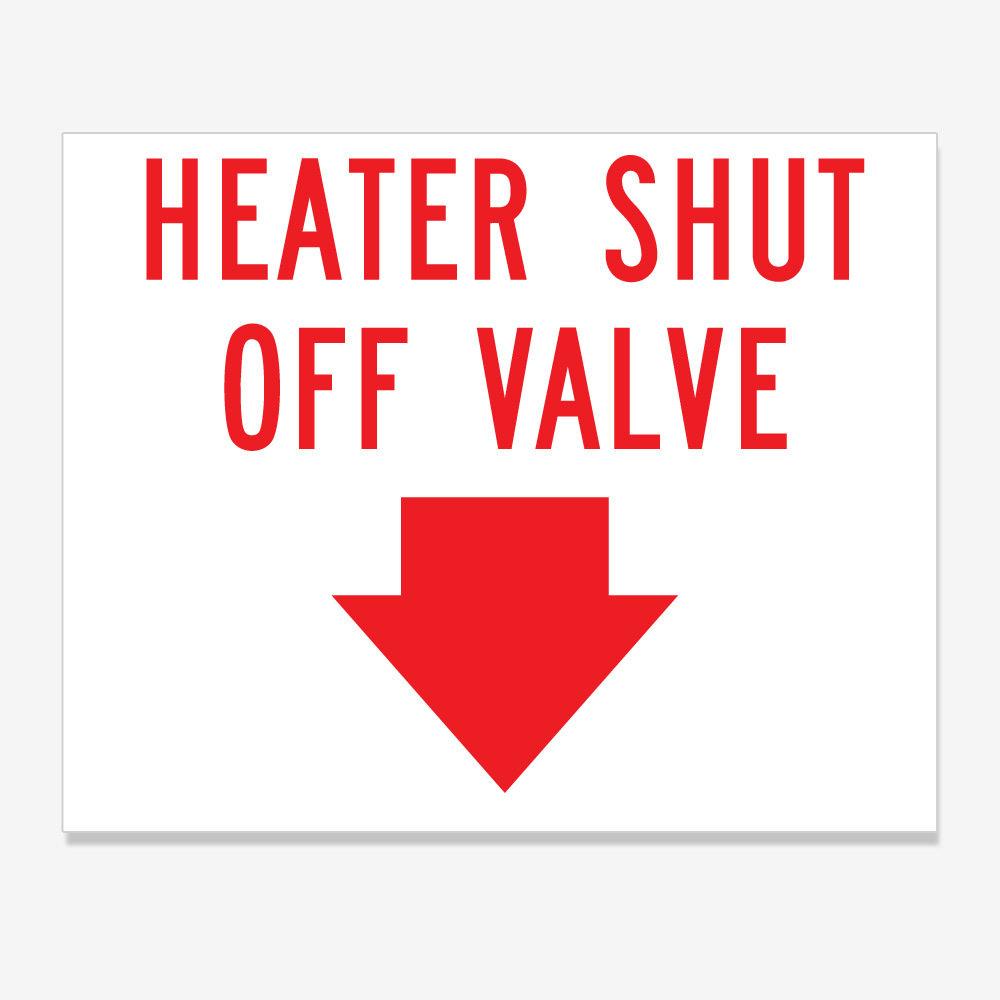 Heater Shut Off Valve