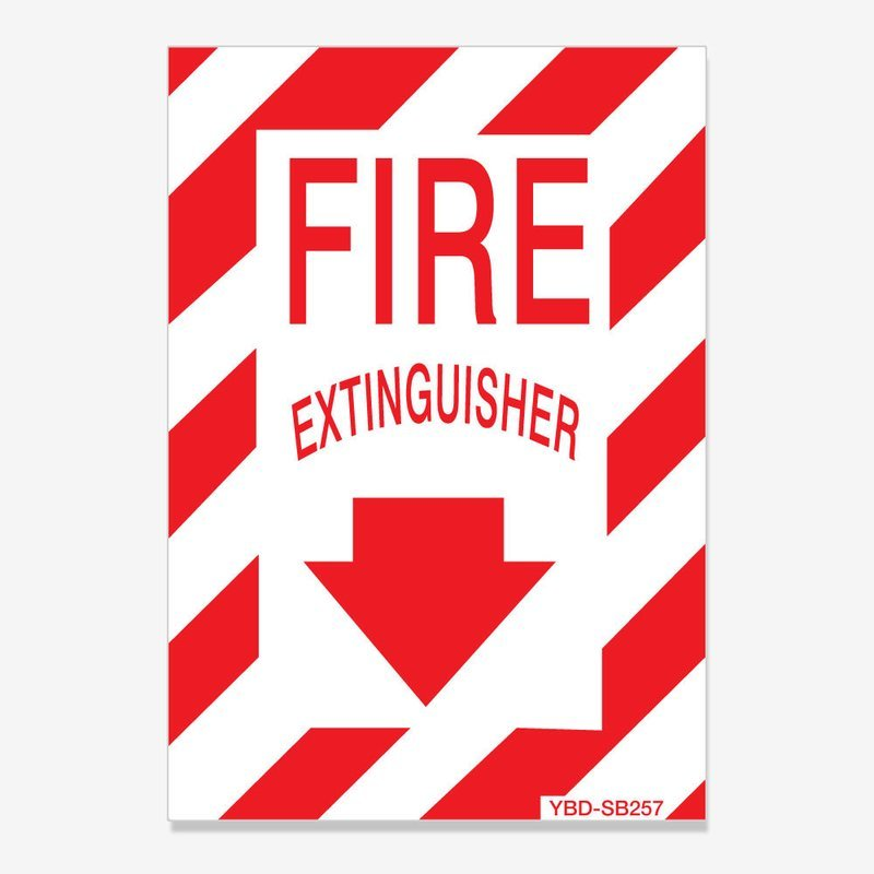 Fire Extinguisher Identification Decal