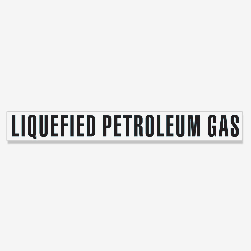 Liquefied Petroleum Gas Decal