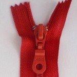 "A B Q Designer Bag Zipper 22"" Barberry"