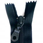 "A B Q Designer Bag Zipper 22"" Dk Navy"