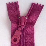 "A B Q Designer Bag Zipper 22"" Magenta"