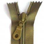 """A B Q Designer Bag Zipper 22"""" Olive Drab"""
