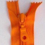 """A B Q Designer Bag Zipper 22"""" Persimmon"""