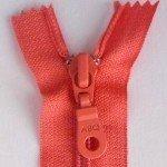 A B Q Designer Bag Zipper Sugar Coral