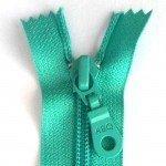 A B Q Designer Bag Zipper Turquoise
