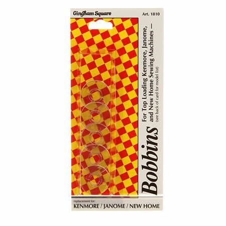 Gingham Square Bobbins