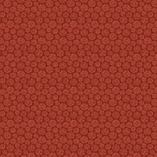 Benartex Thread Dot Red