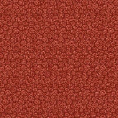 Benartex Thread Dot Red