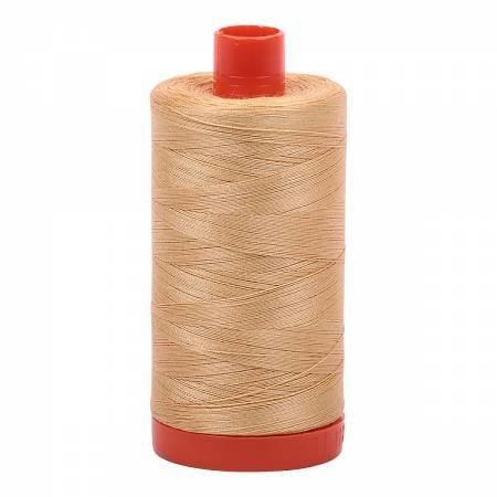 Aurifil Cotton 50wt Ocher Yellow