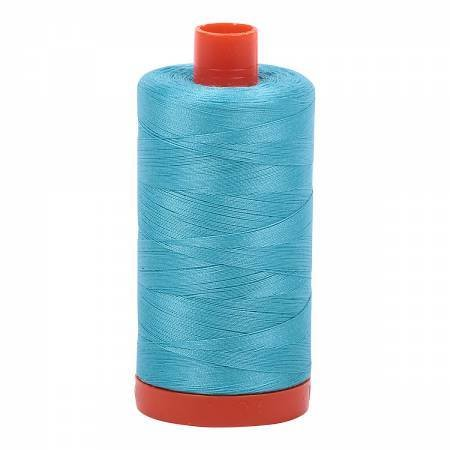 Aurifil Cotton 50wt Bright Turquoise