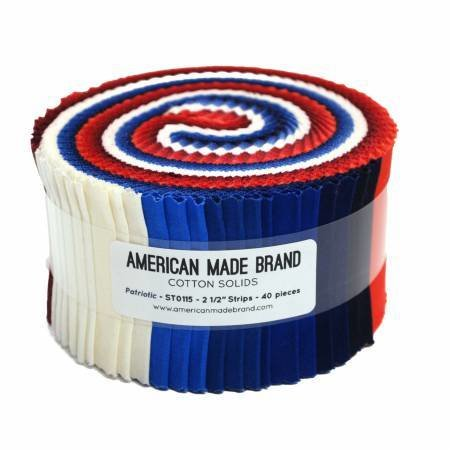 A M B Patriotic Strip Roll
