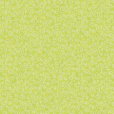 Benartex Joey The Shop Dog Curls Lime