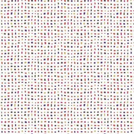Contempo Confetti White/pink