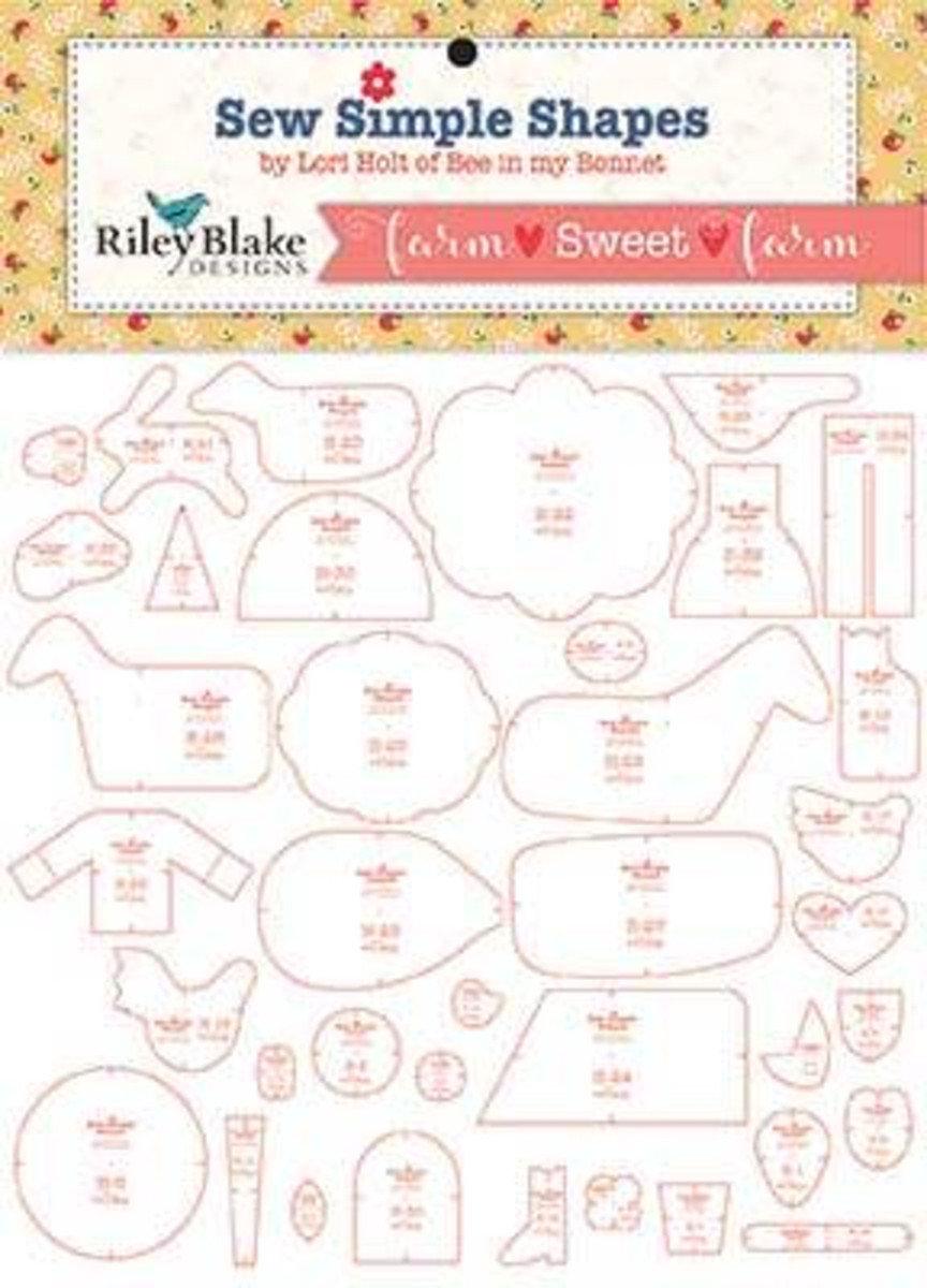 RB Farm Girl Simple Shapes