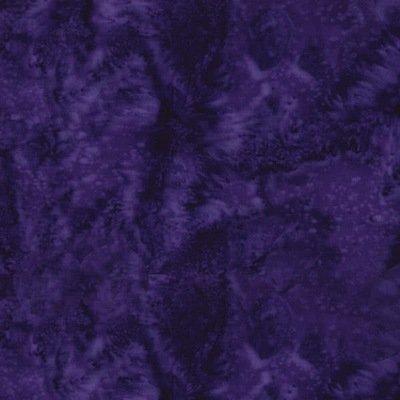 Hoffman Bali Batiks Large Leafs Vegas Purple