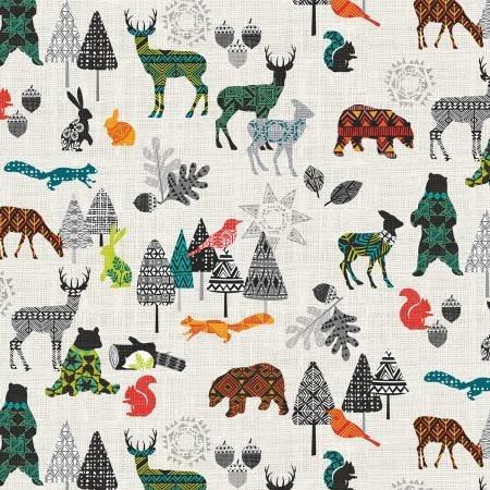 Studio E Into The Woods, Multi Animals