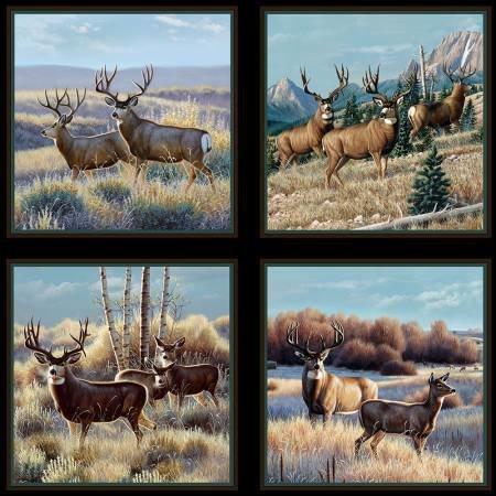 Elizabeth's Studio Mule Deer