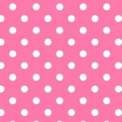 Happy Dot Pink Flannel