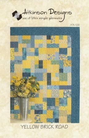 Pattern Yellow Brick Road