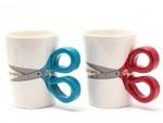 Mug Scissor Shaped Handle