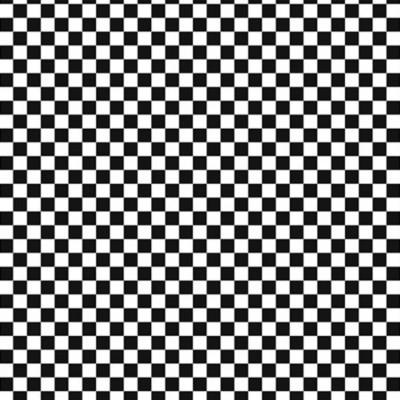 Taste Row By Row Check Black/white