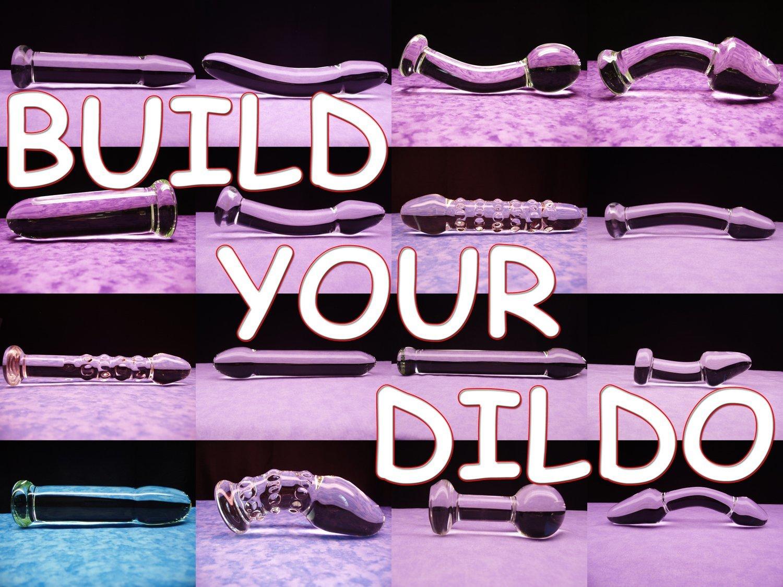 BUILD YOUR GLASS DILDO