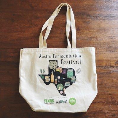 Austin Fermentation Festival Tote