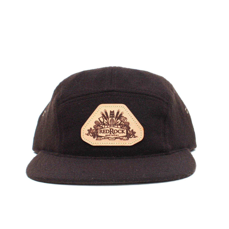 Dark Brown 5 Panel Hat