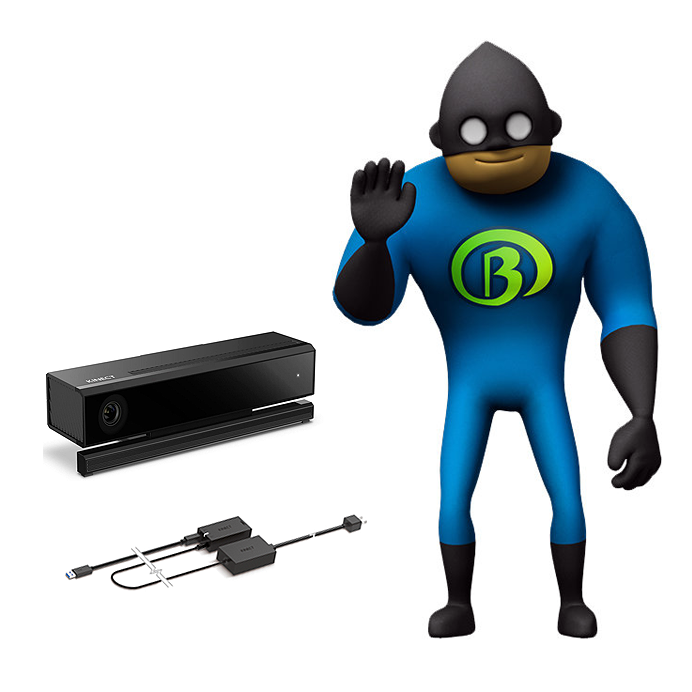Boris Makaton - Bundle (inc. Kinect Sensor)