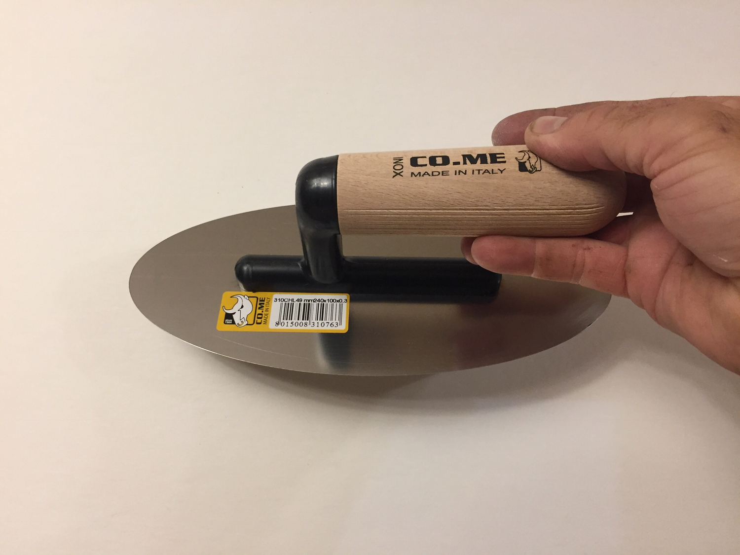 310CHL oval ultra flex (pvc connector/wooden handle)