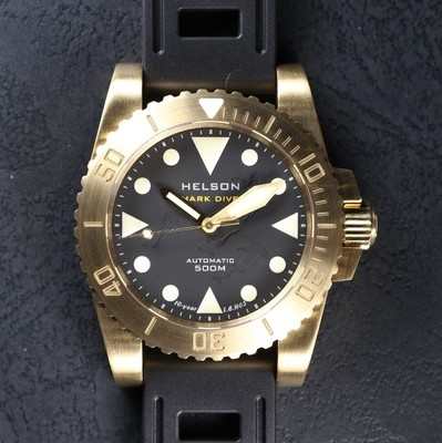 Sharkdiver 40 Brass Black LE