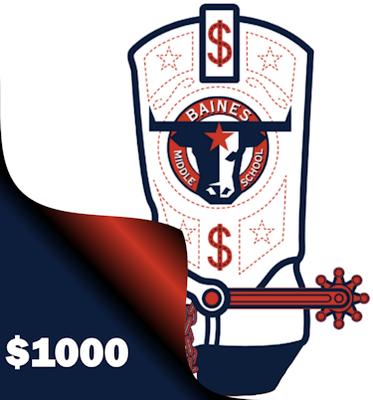 Longhorn Loot $1000 Donation