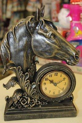 Orologio testa di cavalllo