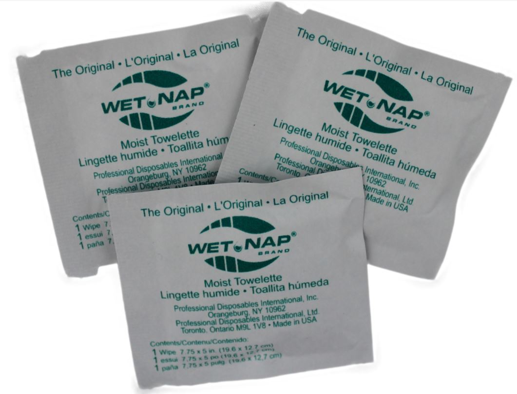 Hand cleansing towelettes - pkg of 100 CA5