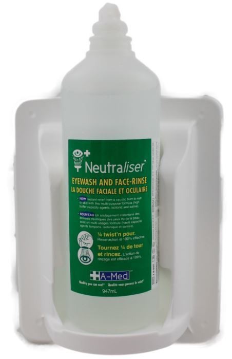 Neutraliser Bottlepod with wall sign EY5