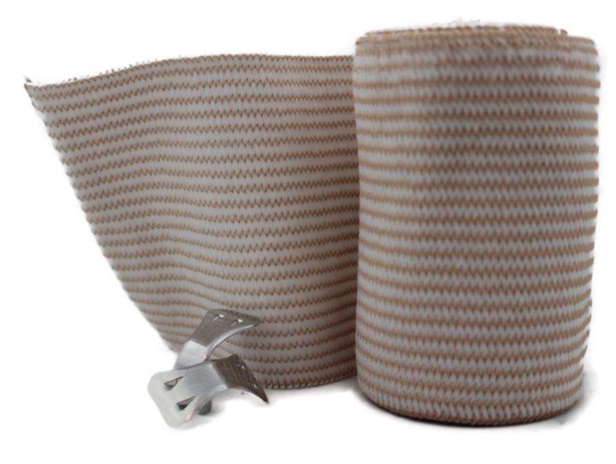 Elastic Reinforced bandage roll  7.5cm x 4.5m WR1