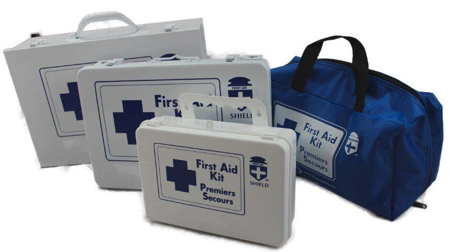 Newfoundland & Labrador  First Aid Kit Sch C 2-14 workers NL1