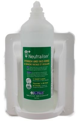 Neutraliser Bottlepod with wall sign