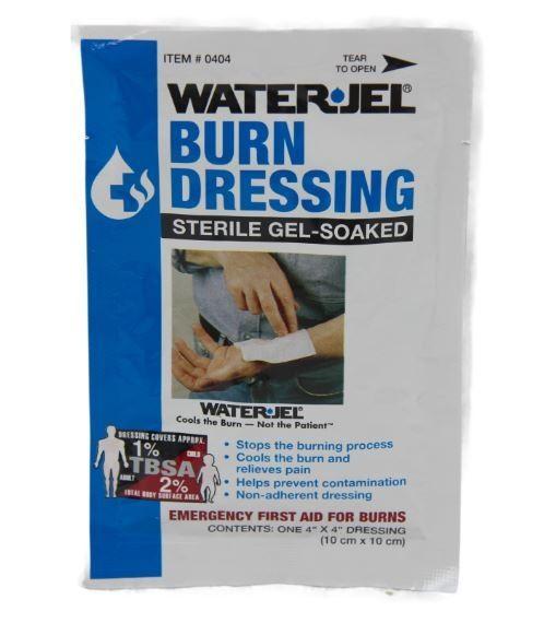 Waterjel Burn Dressing 10cm x 10 cm