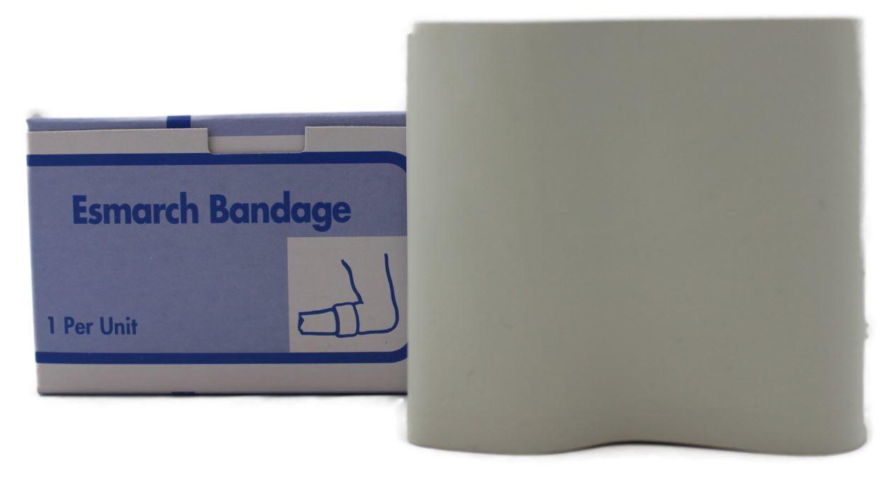 Esmarch gum rubber bandage