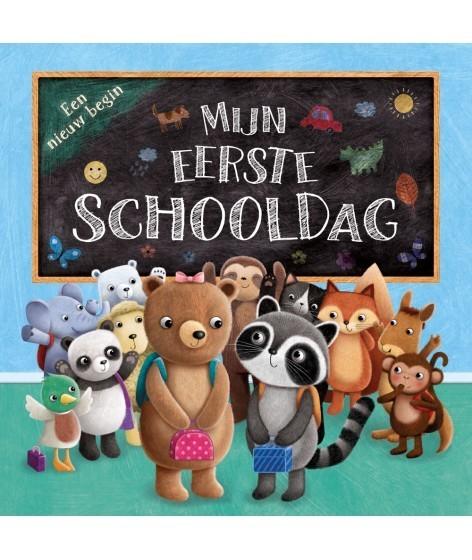 Boek. 'Mijn eerste schooldag'